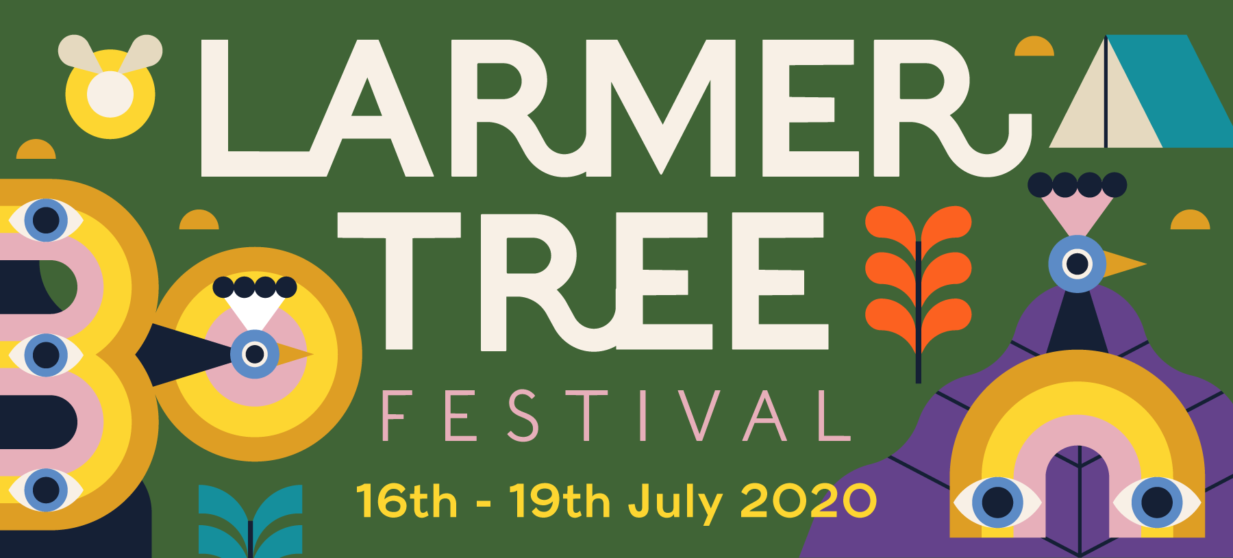 Larmer Tree Festival - 16th - 19th July 2020